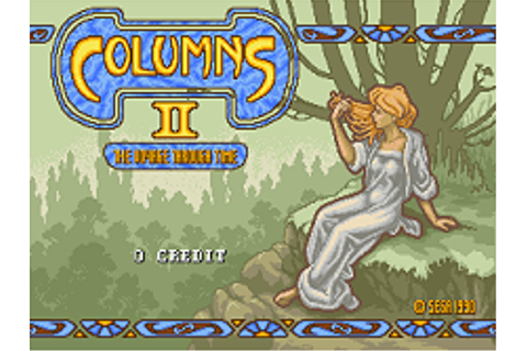 Columns II: The Voyage Through Time (World) ROM