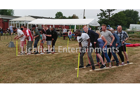 Fun Team Building Fun Days from Lichfield Entertainments UK