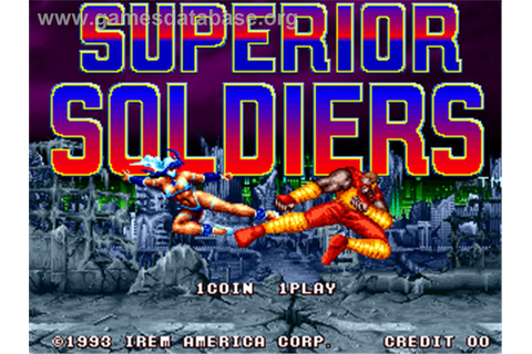 Superior Soldiers - Arcade - Games Database