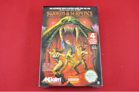 Swords and Serpents | Nintendo NES - Catawiki