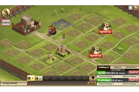 Kingdoms of Camelot - MMO Square