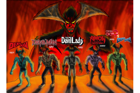 All Devilman Anime by NeckOfSteel on DeviantArt