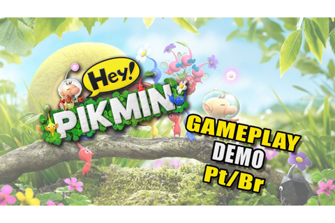 Hey Pikmin - Game Play Demo - pt br - YouTube