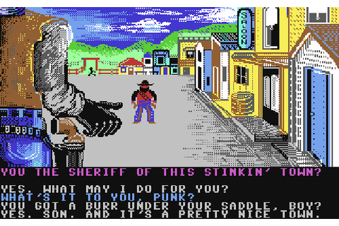 The Games We Played – Law Of The West (C64) | OhGizmo!