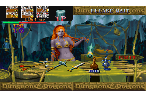 Dungeons & Dragons: Shadow over Mystara (1996) Arcade game