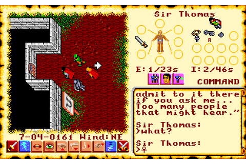 Скриншоты Ultima VI: The False Prophet на Old-Games.RU