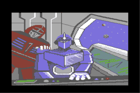 Description of The Transformers: Battle to Save the Earth Commodore 64
