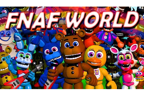 FNaF World Free Download (v1.24) « IGGGAMES