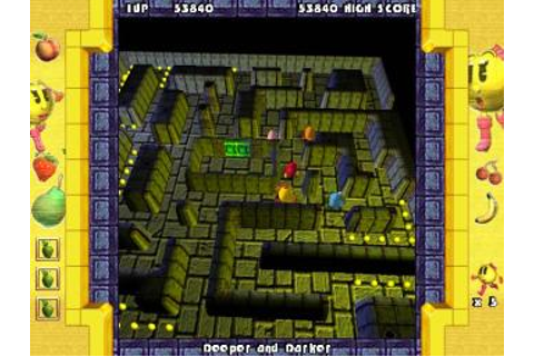 Screens: Ms. Pac-Man: Quest for the Golden Maze - PC (2 of 5)