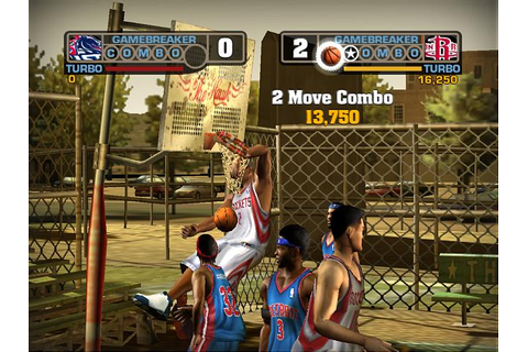 Screens: NBA Street V3 - PS2 (5 of 28)