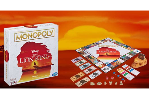There's now a Lion King Monopoly game available and we ...