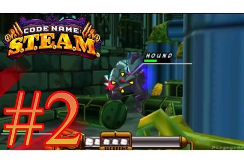 Code Name: S.T.E.A.M. - Gameplay Walkthrough Part 2 [ 3DS ...