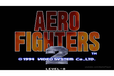 Aero Fighters 2 1994 Video System Mame Retro Arcade Games ...