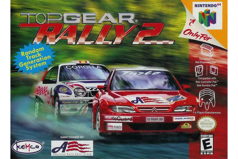 Top Gear Rally 2 Nintendo 64 Game