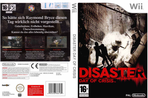 Games Covers: Disaster Day Of Crisis - Wii