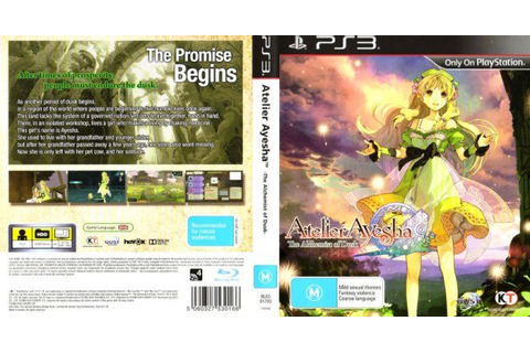 Atelier Ayesha: The Alchemist of Dusk (PS3) | The Gamesmen