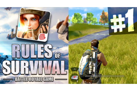 "MOBILE BATTLE ROYALE ""RULES of SURVIVAL"" NEW iOS/Android ..."