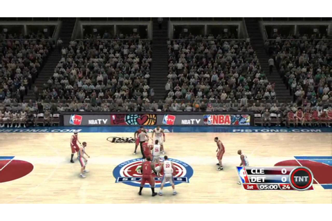 NBA Live 09 The Inside Review HD Quality - YouTube