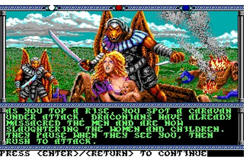 Champions of Krynn (Amiga) Game Download