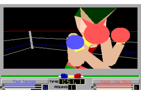 4D Sports Boxing (PC DOS) | Games Remembered