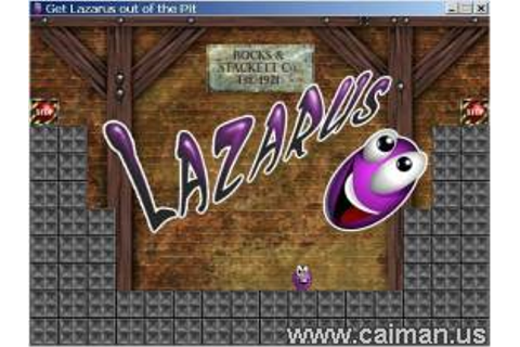 Caiman free games: Lazarus by Jacob Habgood.