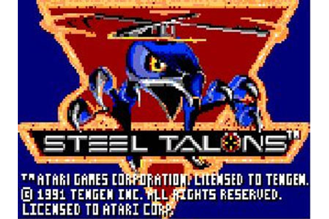 Steel Talons Review for Lynx (1992) - Defunct Games