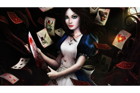 video Games, Alice In Wonderland, Alice: Madness Returns ...