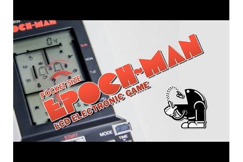 Epoch-Man by Epoch (Handheld LCD Game) - Retrogears ep. 2 ...