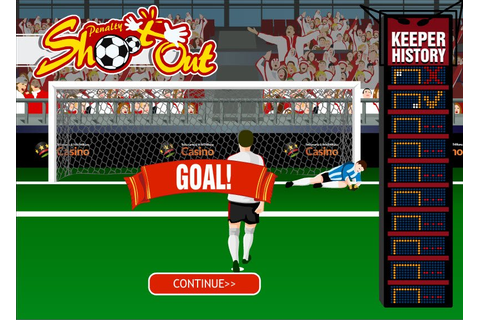 Play Playtech's Penalty Shootout Game