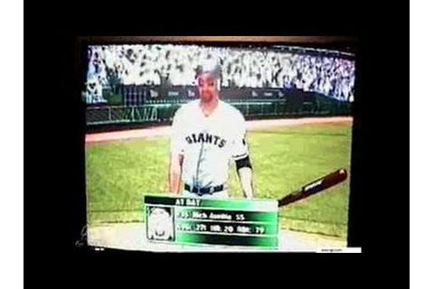 World Series Baseball 2K2 Dreamcast Video - YouTube