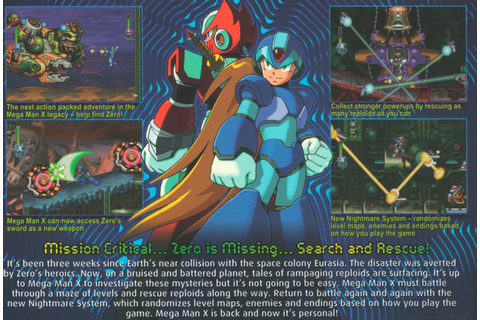 Best PSP games download: MegaMan X6 (psx-psp)