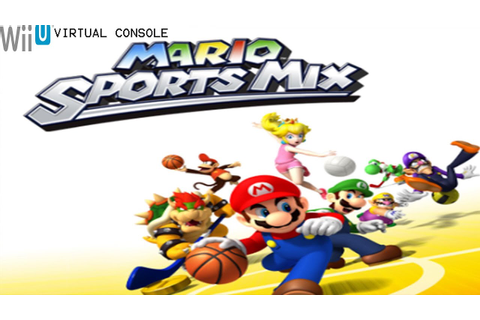 Mario Sports Mix - Wii U Virtual Console Gameplay ...
