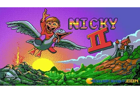 Nicky Boom 2 gameplay (PC Game, 1993) - YouTube