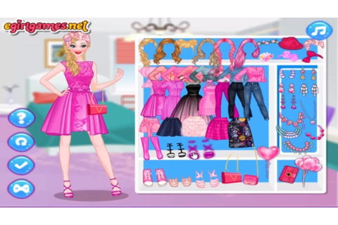 Disney princess games and Barbie Games Pretty In Pink ...