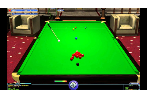 Virtual Pool 4 Online Sunday Snooker final Larry v Mal 255 ...