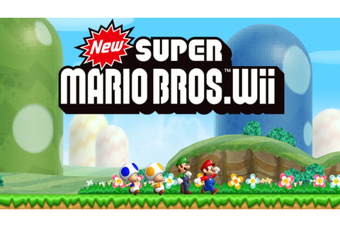 New Super Mario Bros. Wii Worlds 1 - 9 Full Game (100% ...