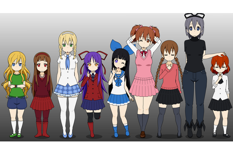 Rpg Girls by animelover876 on DeviantArt