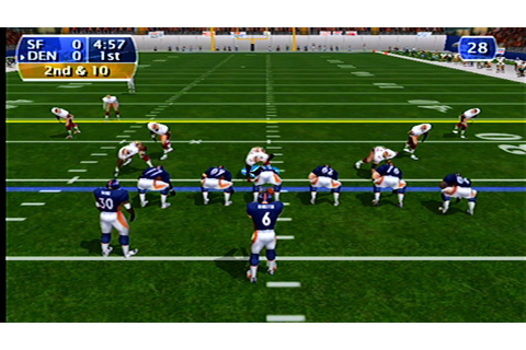 NFL 2K Gameplay (Dreamcast) - YouTube