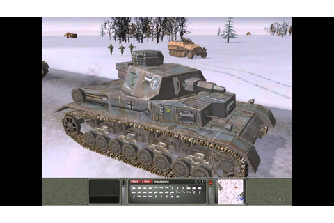 Panzer Commander PC 1998 Gameplay - YouTube