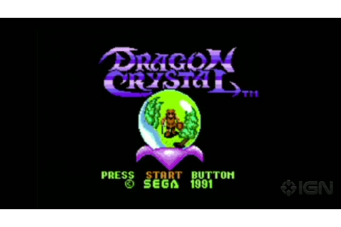Dragon Crystal - Game Gear Trailer - IGN Video