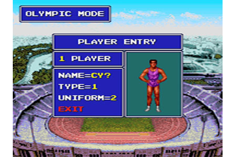 World Sports Competition Images for TurboDuo (1992 ...