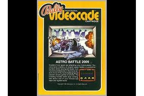 Lets Play Bally Astrocade Videocart 2009 Astro Battle ...
