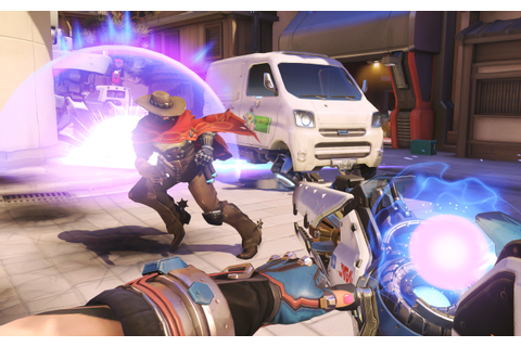 Overwatch: Blizzard Releases New Gameplay Footage of Zarya ...