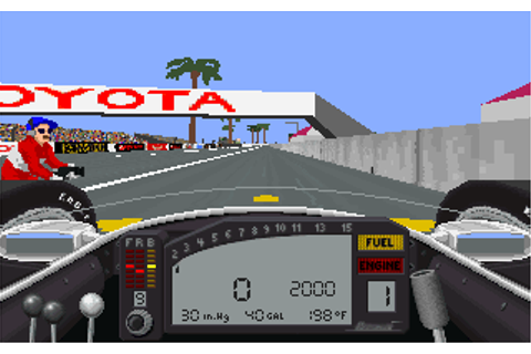 IndyCar Racing | Old DOS Games | Download for Free or play ...