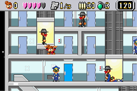 Elevator Action Old & New Screenshots for Game Boy Advance ...