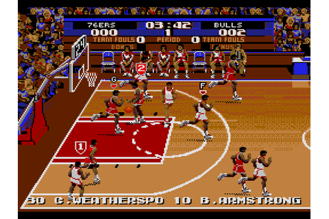 Tecmo Super NBA Basketball (Japan) ROM
