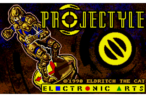 Projectyle (1990) by Eldritch the Cat Amiga game