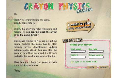 Crayon Physics Deluxe Download (2009 Puzzle Game)