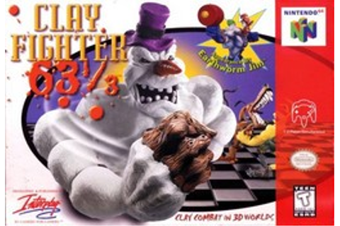 ClayFighter 63⅓ - Wikipedia