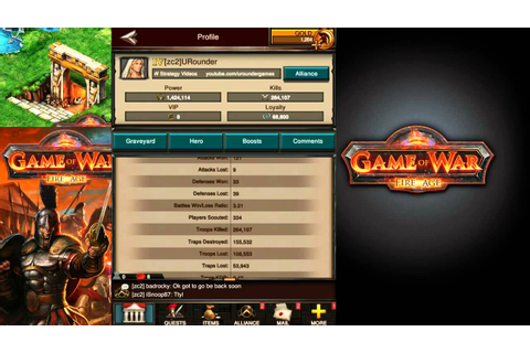 Game of War Fire Age - Power - How to Build Power (HD ...